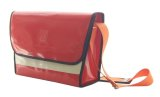 NAHOK Messenger Bag [Schneider] Scarlet / Ivory {Waterproof, Temperature Adjustment & Shock Absorb}