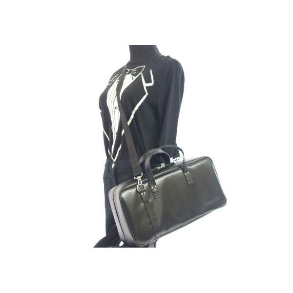 Photo5: NAHOK Oboe Case Bag [Camarade] Matte Black {Waterproof, Temperature Adjustment & Shock Absorb}
