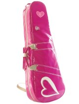 50%OFF NAHOK Violin Case [Paganini] Fuchsia Pink / Heart {Waterproof, Temperature Adjustment & Shock Absorb}