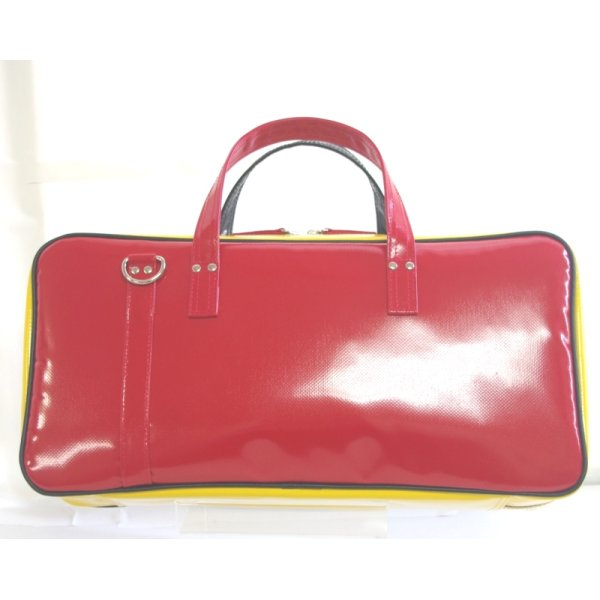 Photo2: NAHOK Clarinet Case Bag [Camarade] German Triple (Black, German Red, German Yellow) {Waterproof, Temperature Adjustment & Shock Absorb}