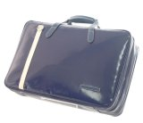 NAHOK Briefcase for Flute, Oboe, Clarinet [Deniro] Deep Blue / Ivory {Waterproof, Temperature Adjustment & Shock Absorb}