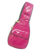 NAHOK Acoustic Guitar Carry Case [Scorsese] Fuchsia Pink / Black {Waterproof, Temperature Adjustment & Shock Absorb}