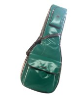 NAHOK Acoustic Guitar Carry Case [Scorsese] Matte Emerald Green / Black {Waterproof, Temperature Adjustment & Shock Absorb}