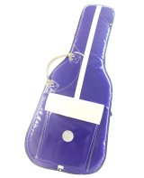 NAHOK Electric Guitar Carry Case [Prince] Violet / White {Waterproof, Temperature Adjustment & Shock Absorb}