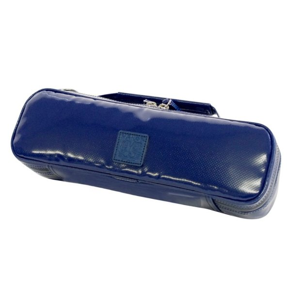 Photo1: NAHOK Piccolo Case Guard [Mancini] Deep Blue {Waterproof, Temperature Adjustment & Shock Absorb}