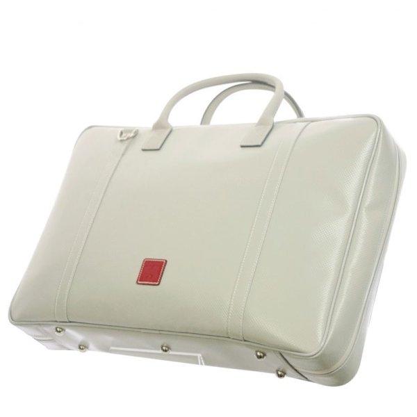 Photo1: NAHOK Briefcase Large [Gabriel] Matte Light Grey {Waterproof, Temperature Adjustment & Shock Absorb}