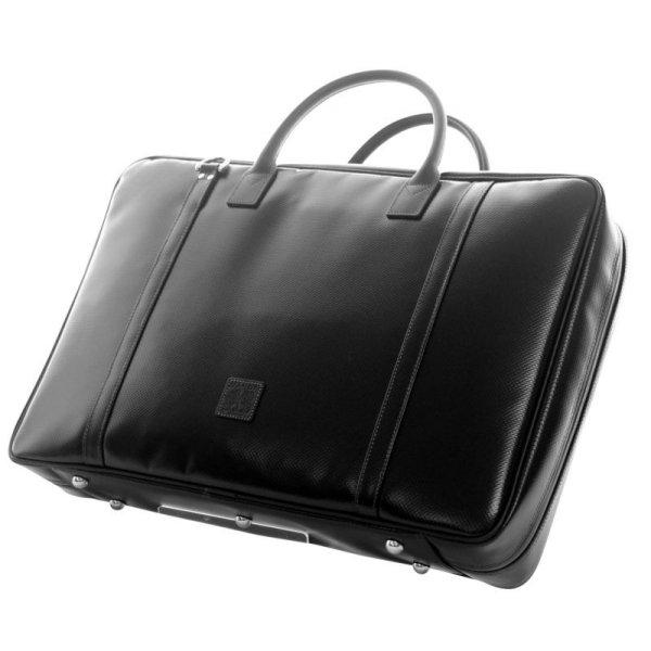 Photo1: NAHOK Briefcase for Oboe [Gabriel] Matte Black {Waterproof, Temperature Adjustment & Humidity Regulation, Shock Protection}