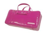 NAHOK Clarinet Case Bag [Camarade] Purple Pink / Ribbon {Waterproof, Temperature Adjustment & Shock Absorb}
