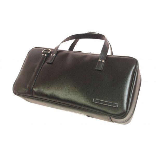 Photo1: NAHOK Oboe Case Bag [Camarade] Matte Black {Waterproof, Temperature Adjustment & Shock Absorb}