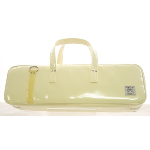 Photo2: NAHOK Flute & Piccolo Case Bag C Foot [Grand Master2] Cream / Bamboo {Waterproof, Temperature Adjustment & Shock Absorb}