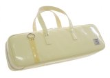 NAHOK Flute Case Bag B Foot [Grand Master2] Cream / Bamboo {Waterproof, Temperature Adjustment & Shock Absorb}
