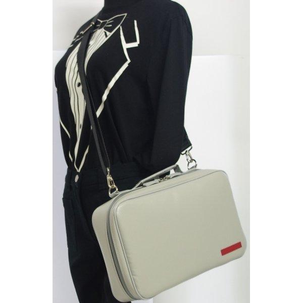 Photo4: NAHOK Single Oboe Case Bag [The Mission] Matte Light Grey {Waterproof, Temperature Adjustment & Shock Absorb}