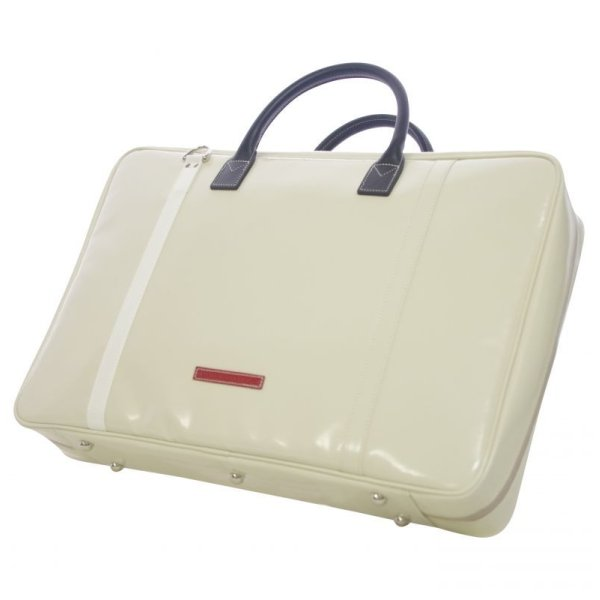 Photo1: NAHOK Briefcase Large [Gabriel] Ivory / White {Waterproof, Temperature Adjustment & Humidity Regulation, Shock Protection}