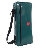 NAHOK Drum Stick Case Bag [Drum Line4] Emerald Green {Waterproof}
